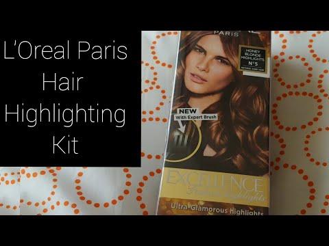 L'oreal Paris Excellence Hair Colour | Unboxing | Expert Brush | Hair Colour Kit