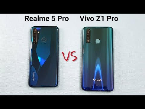 Realme 5 Pro vs Vivo Z1 Pro SpeedTest Camera Comparison