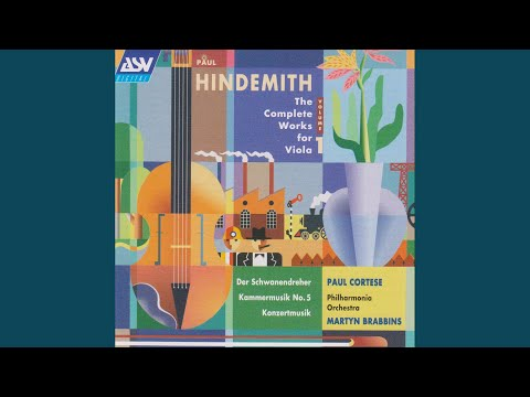 Hindemith: Kammermusik No.5, Op.36 No.4, For Viola And Large Chamber Orchestra - 1. Schnelle Halbe