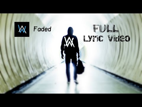Alan Walker  Faded  Lyrics  Lyric