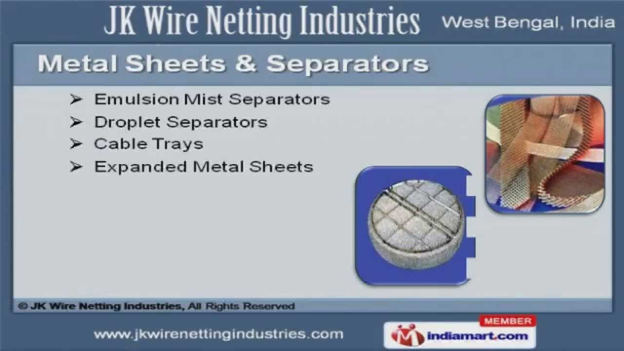 maxresdefault wirenetting products by jk wire netting industries, kolkata youtube proses pembuatan wiring harness at panicattacktreatment.co