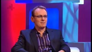 David Mitchell and Sean Lock discussing The Heaven & Earth Show / religious programming