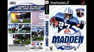 Madden 2001 [Xzibit-The Mad In Game] [HD] [PS1/PlayStation 2/Nintendo 64]