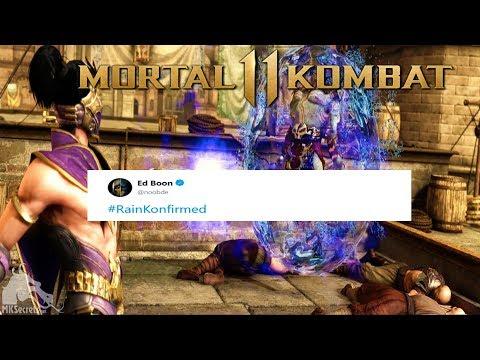 Mortal Kombat 11 - Rain Confirmed by Ed Boon! thumbnail