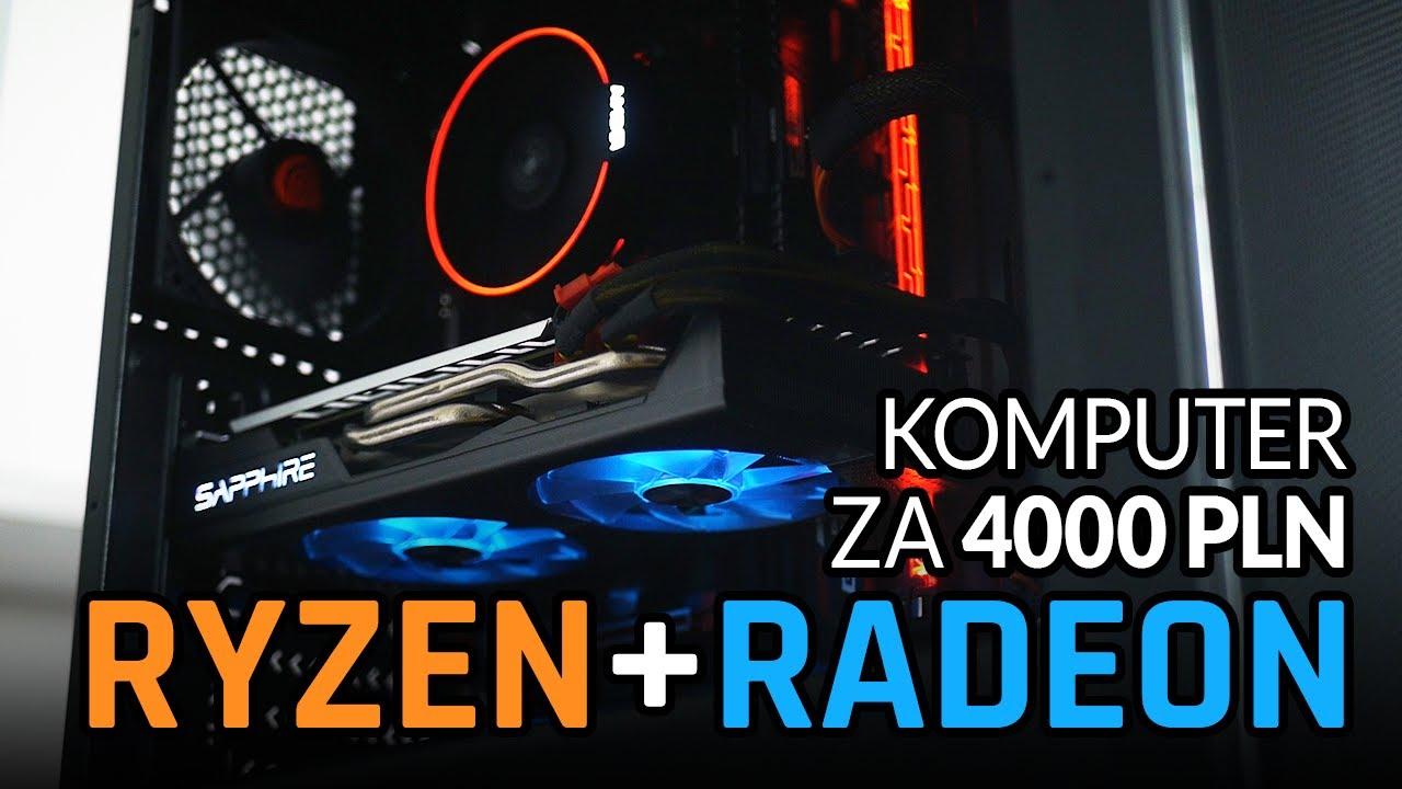 Komputer AMD za 4000 PLN? TESTUJEMY w BF1 | Mass Effect | Wiedźmin 3