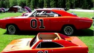 1969 Dodge Charger General Lee Shawnigan Lake Show & Shine 2012
