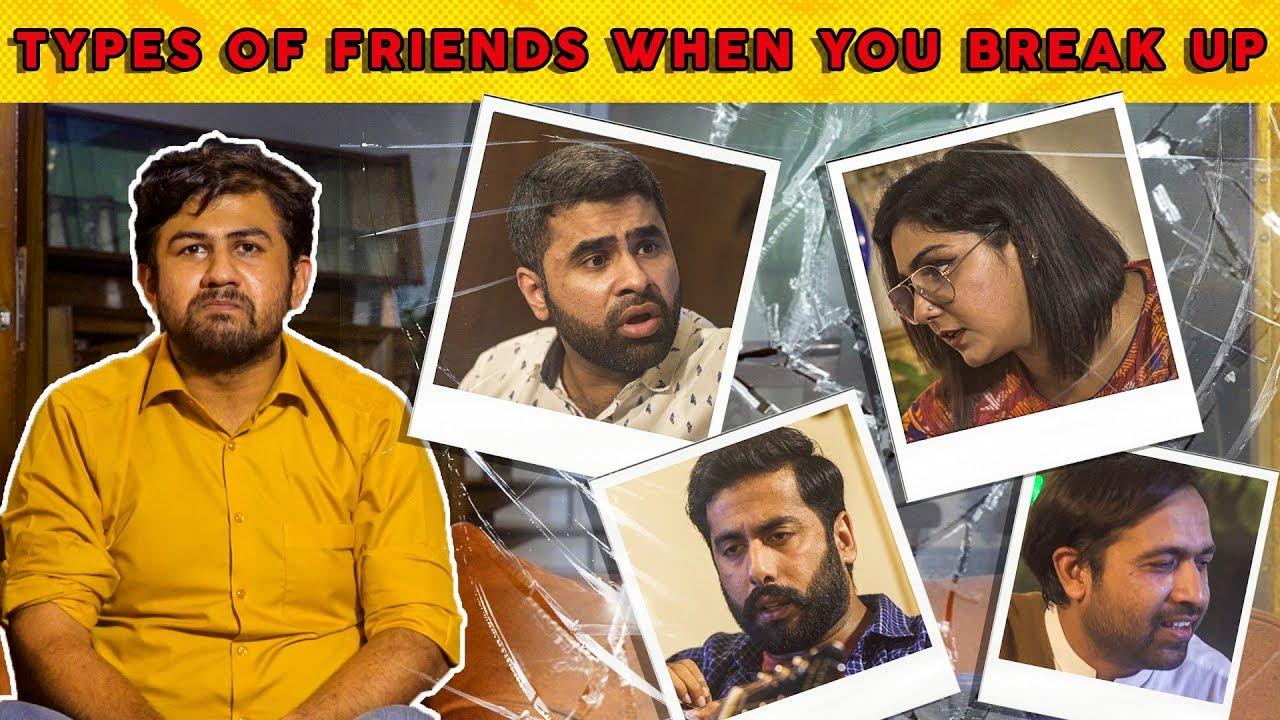 Types of Friends When You Break Up | MangoBaaz