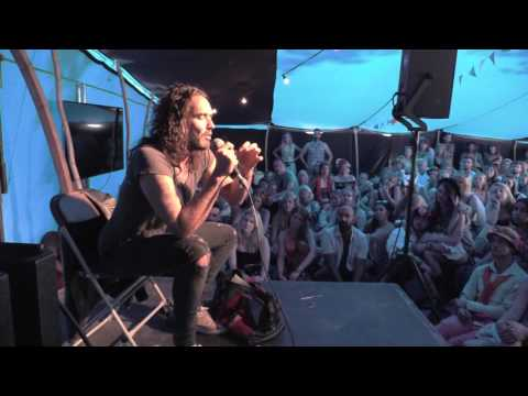 Recovery and Freedom: Russell Brand at Wilderness Festival