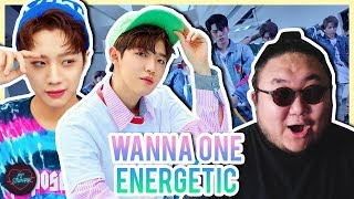 "Producer Reacts to Wanna One ""Energetic"""