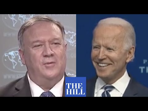 VIRAL MOMENT: Biden chuckles at the mention of Mike Pompeo