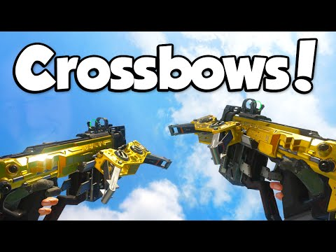 AKIMBO CROSSBOWS!? (Call of Duty: Black Ops 3 Crossbow)