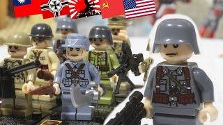 РОЗЫГРЫШ + ОБЗОР солдат разных стран на Вторую Мировую (Китай) / WW2 soldiers review (China)