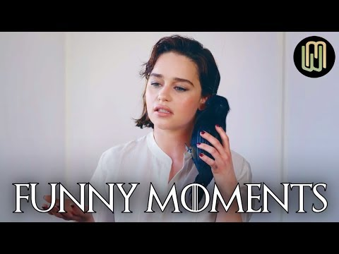 Emilia Clarke's Funny Moments PART 1