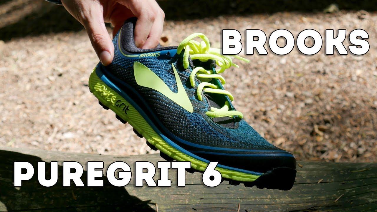 87c9fba23af Brooks PureGrit 6 Overview - YouTube