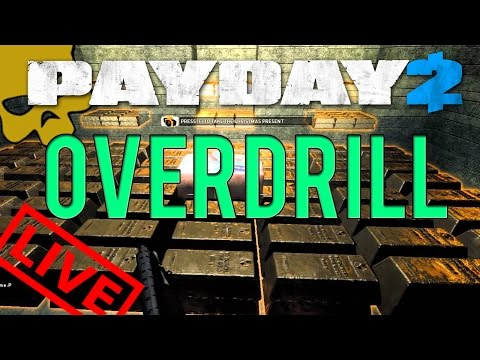 Overdrill /w Kins0 - First World Bank (Overdrill One Down) 🌟 PAYDAY 2