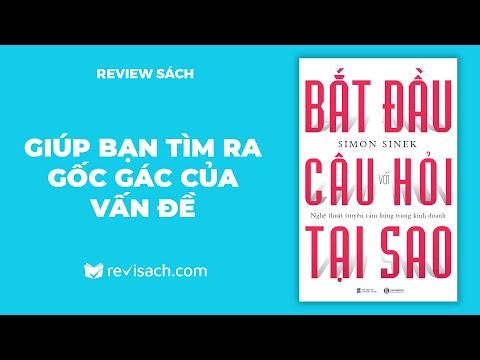 Review Sách Bắt Đầu Với Câu Hỏi Tại Sao - Giúp Bạn Tìm Ra Gốc Gác Của Vấn Đề   Revisach