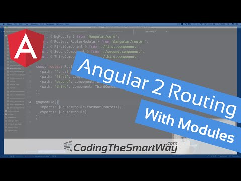 Angular 2 Routing With Modules (Covers Final Release of Angular 2)