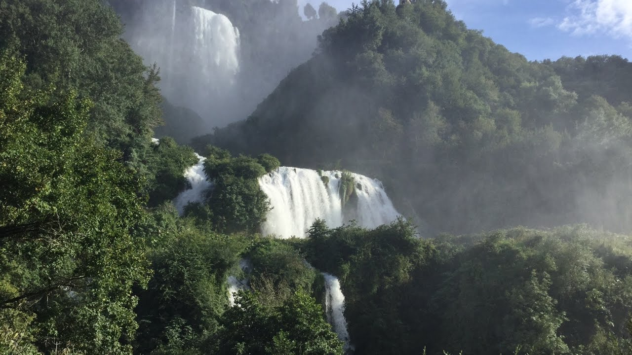 terni Umbria Cascata delle Marmore ( waterfall)Travel Guide best place for visiting in italy