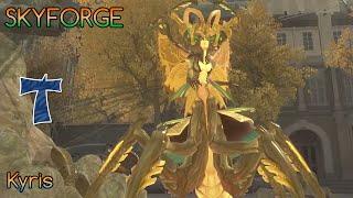 Skyforge. Kyris. Necromancer group gameplay / Кирис. Игра некромантом в группе (гайд в комментариях)