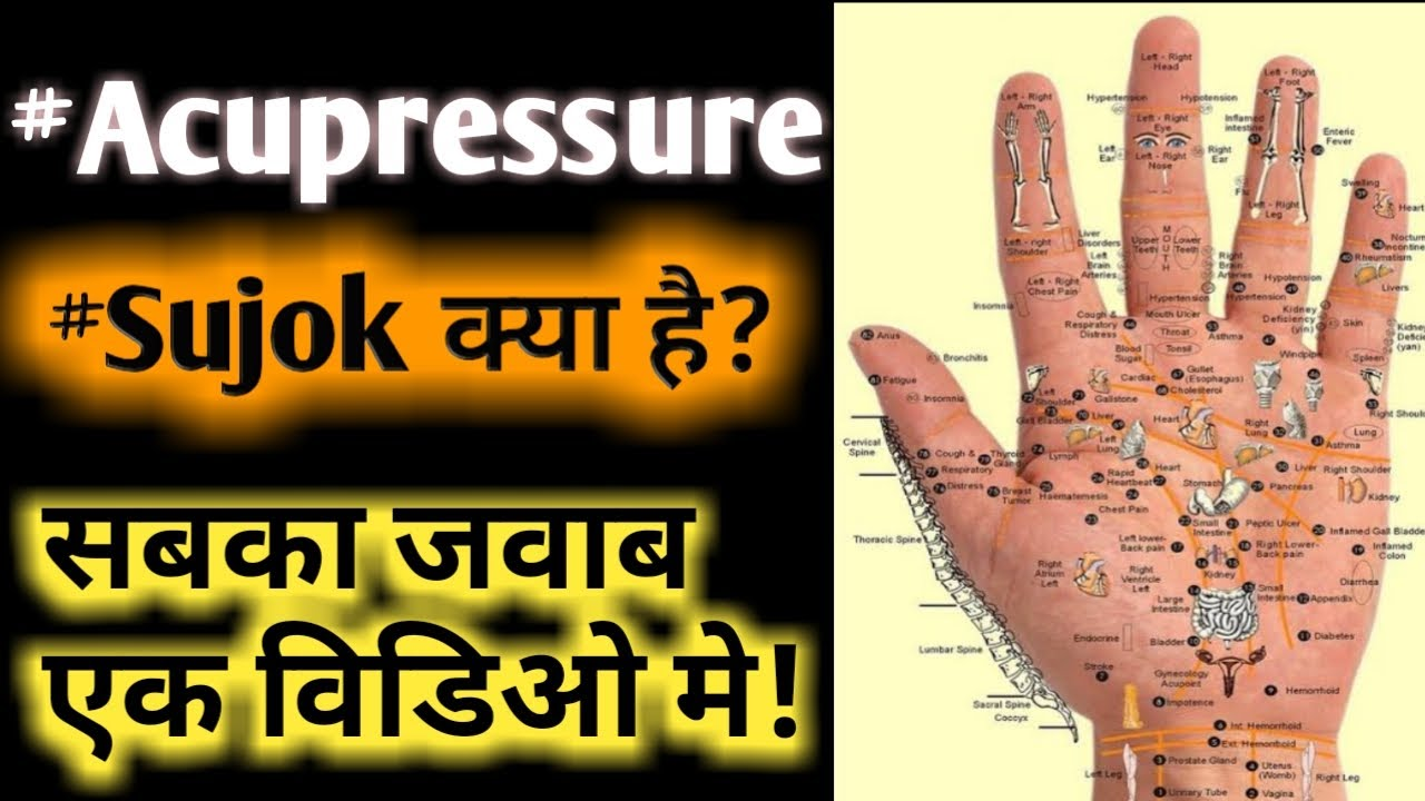 What is Acupressure | Acupuncture | Sujok Therapy Sambhav Nature Cure  Hospital Lucknow in Hindi