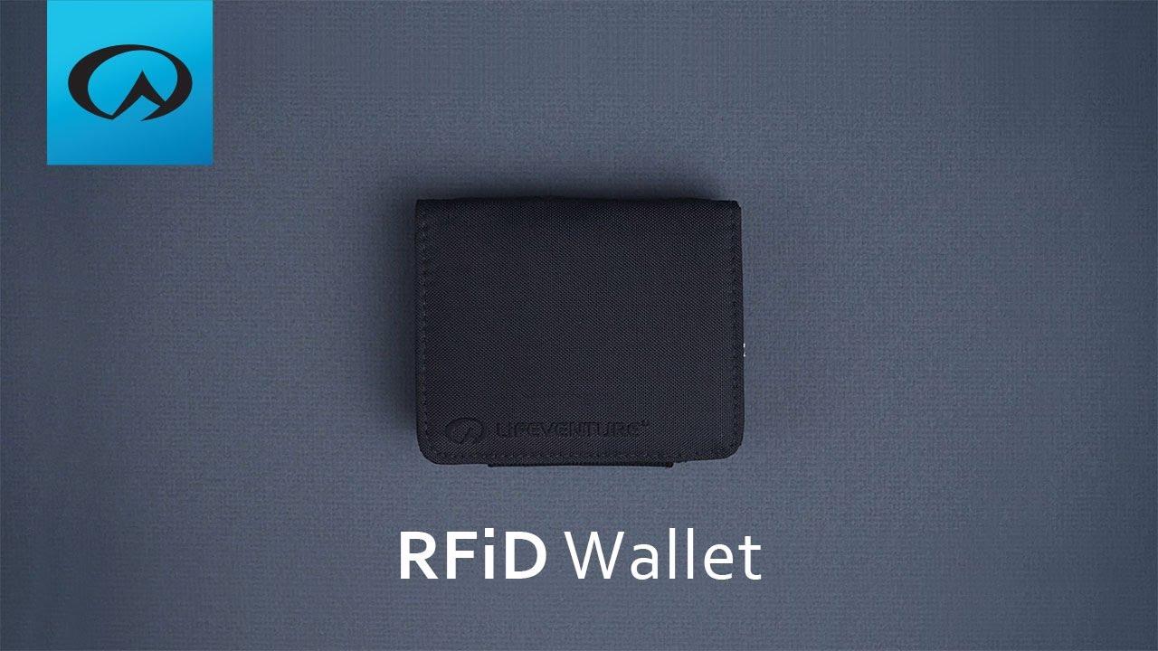 40dfbfaed5985 Lifeventure RFiD Wallet - YouTube