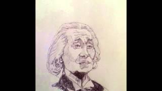 Sketching Richard Hurndall