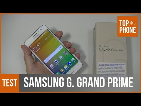 SAMSUNG GALAXY GRAND PRIME - test par Top-For-Phone.fr