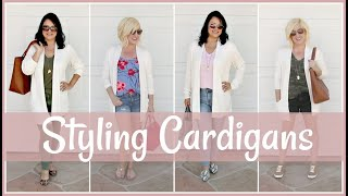 How to Style Long Cardigans | Outfit Ideas & Lookbook