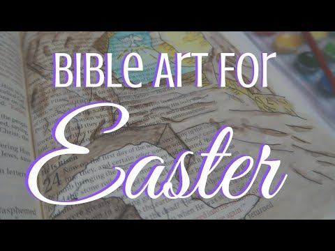 BIBLE ART | Easter 2019