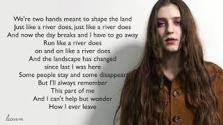 Birdy - Just Like A River Does Lyrics Video