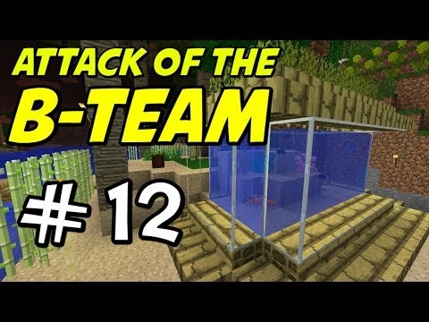 "Minecraft | Attack of the B-Team | E12 ""Tropical Fish Tank!"""