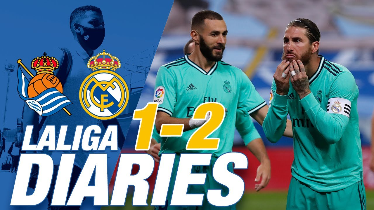 Real Sociedad Real Madrid LaLiga Leaders New Ramos Record YouTube