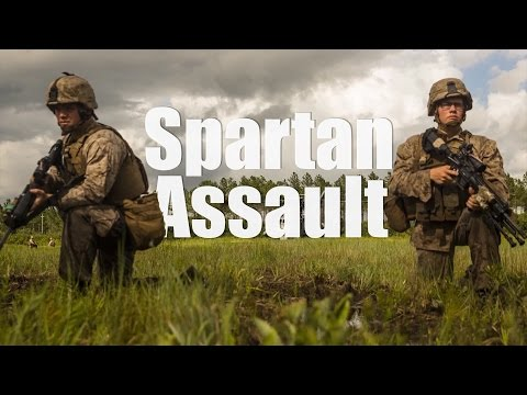 Spartans Train for the Art of War