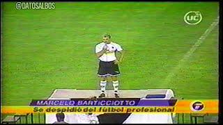 [Noche Alba 2003] Despedida Marcelo Barticciotto y Llegada de Iván Zamorano