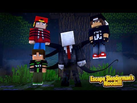 Minecraft Adventure - SLENDER-MAN HAS CAPTURED BEN 10!