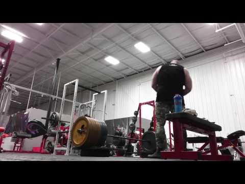 Deadlift PR 638x3 Low Block Pull. 6 Days From 49th Birthday