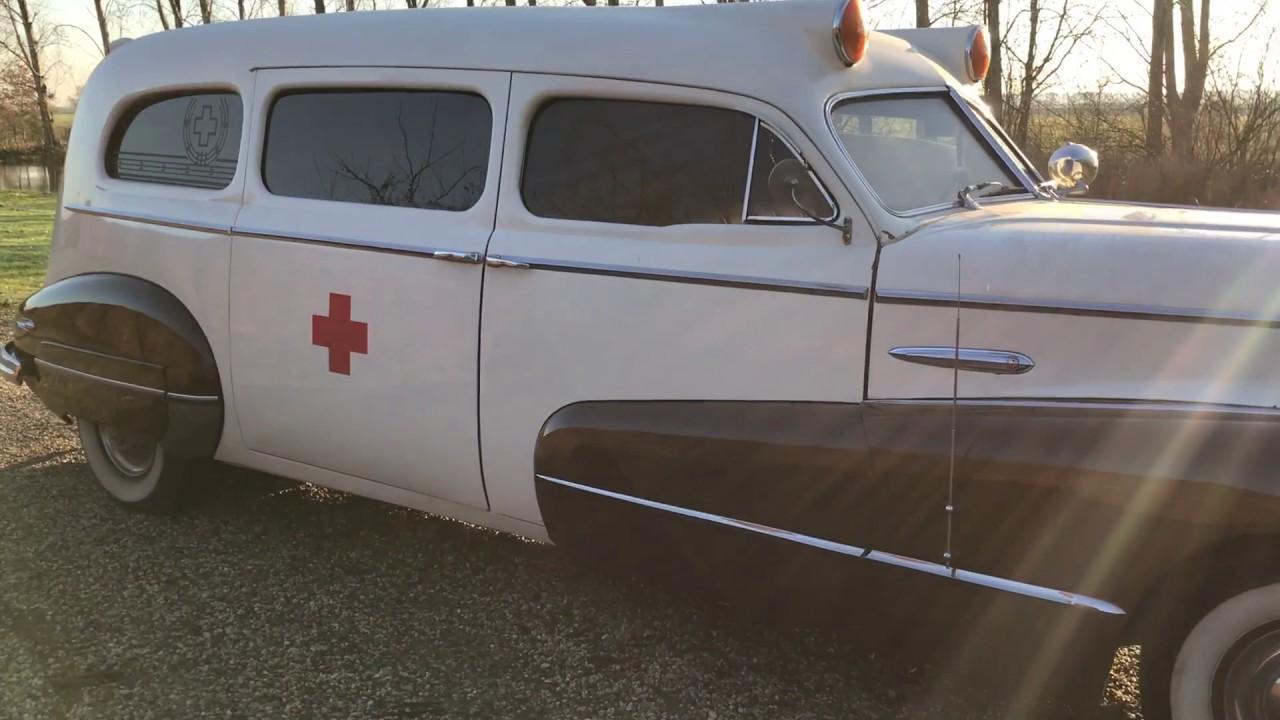 46 Buick Roadmaster Ambulance - YouTube