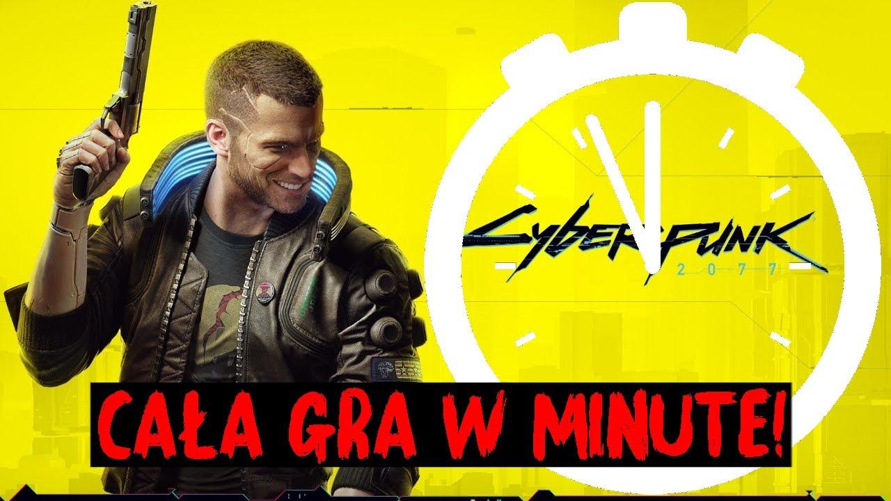 CYBERPUNK 2077 W 1 MINUTE! (PARODIA)