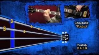 "Robbie Merrill of Godsmack: ""Voodoo""Animated Bass Tab"