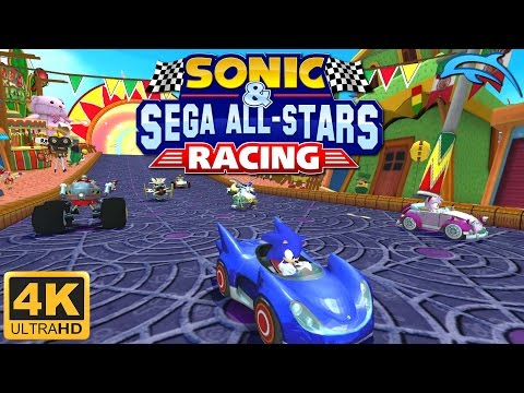 Sonic & Sega All-Stars Racing - Gameplay Wii 4K 2160p (Dolphin 5.0)