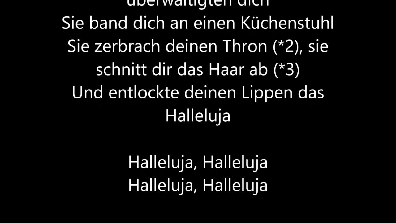 Hallelujah Song Deutsch