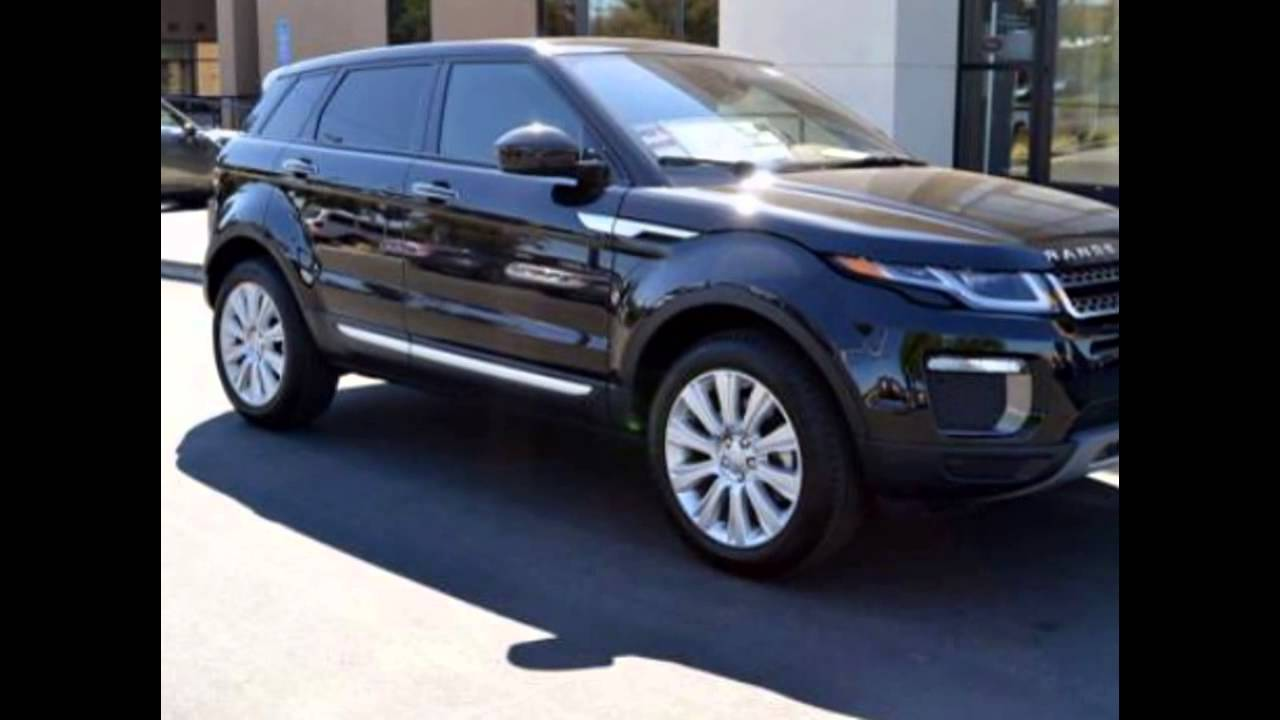 2016 range rover evoque santorini black youtube. Black Bedroom Furniture Sets. Home Design Ideas