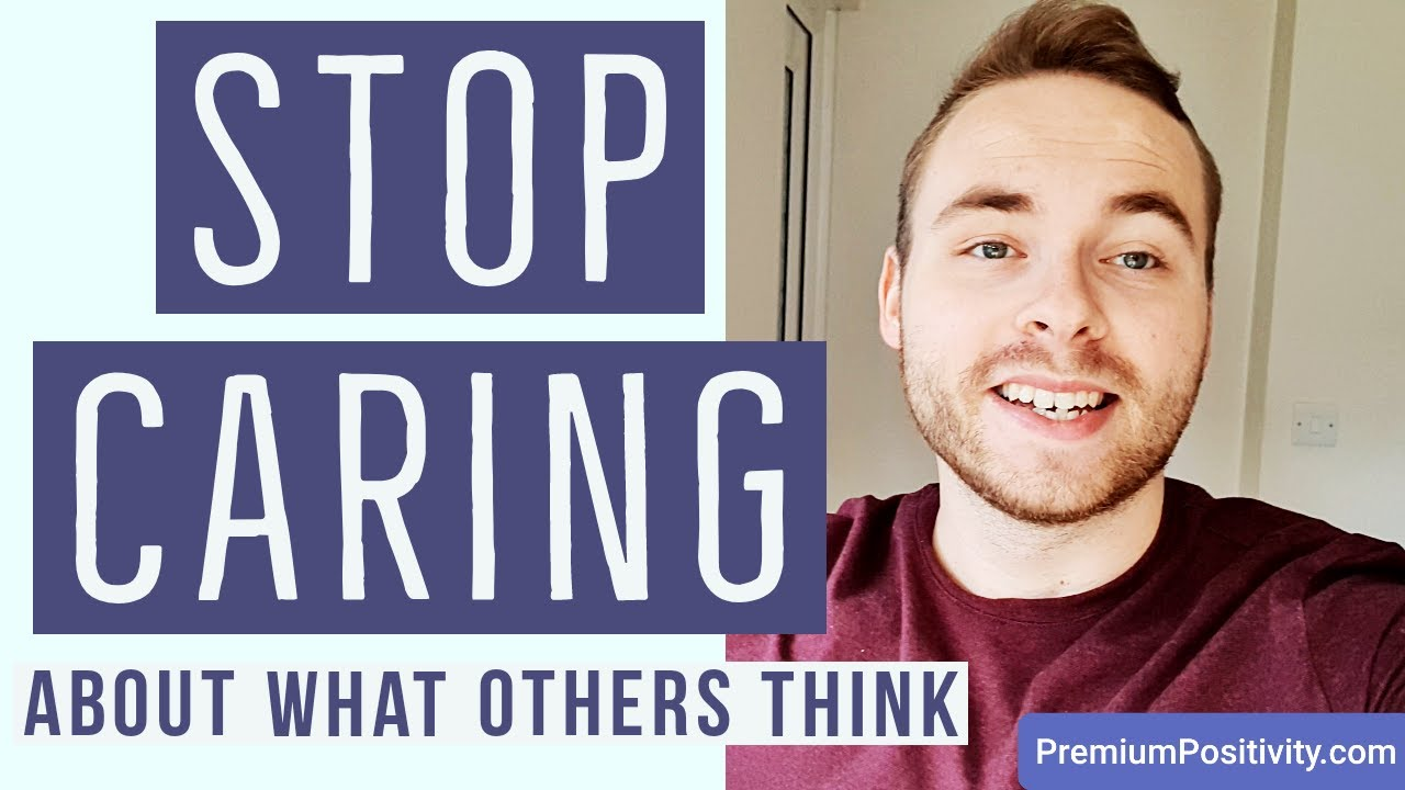 CARE TOO MUCH ABOUT WHAT PEOPLE THINK IN 2020? My 1 tip to take back control and pursue your dreams!