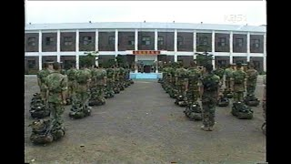 [KBS1] 해병 최초 10인의 여전사 해병대 여군, 해병 부사관 283기 후보생 교육 (2003년)