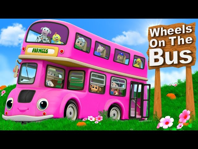 Wheels On The Bus Cartoon Videos And Nursery Rhymes By