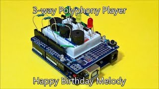 Lesson 7 preview Happy Birthday with 3-way Polyphony