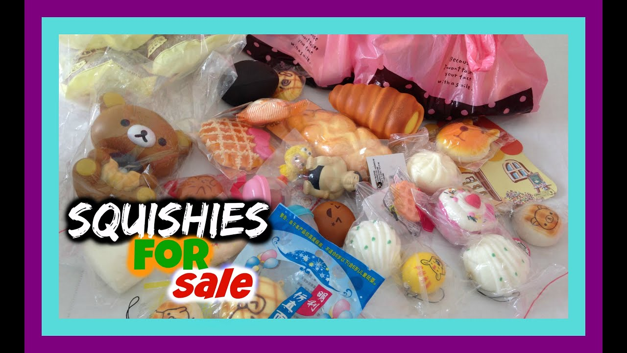 Squishies for sale - Squishies For Sale 2