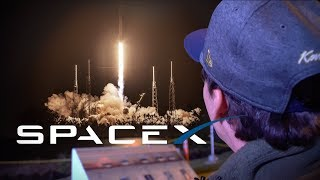 INCROYABLE!!! On assiste en direct à un décollage de fusée SpaceX
