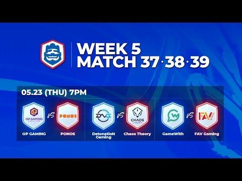 Clash Royale League Asia 2019 Season1 - W5D1