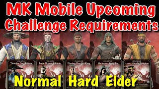 Mortal Kombat Mobile Upcoming Challenge Requirements in January and February 2020